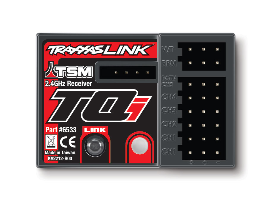 6533 TQi TSM Receiver Top traxxas slash 4x4 rtr tsm tqi bluetooth optional rc est just traxxas tq receiver wiring diagram at couponss.co